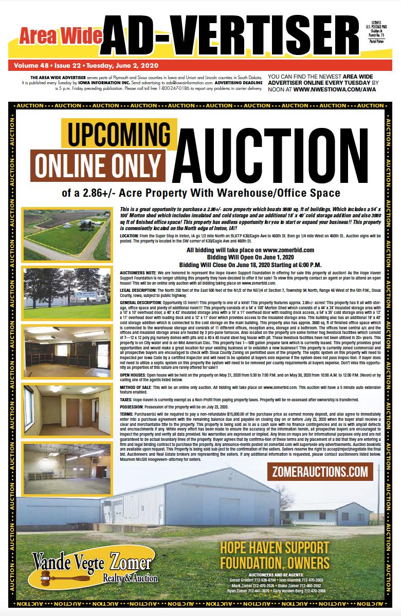 Area Wide Ad-vertiser: June 2, 2020