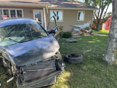 SUV hits rural Orange City house