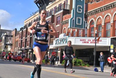 Van Otterloo runs in Fargo Marathon