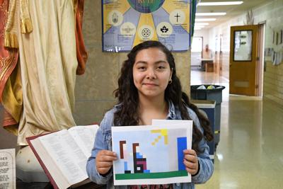 St. Patrick's student recognized for art