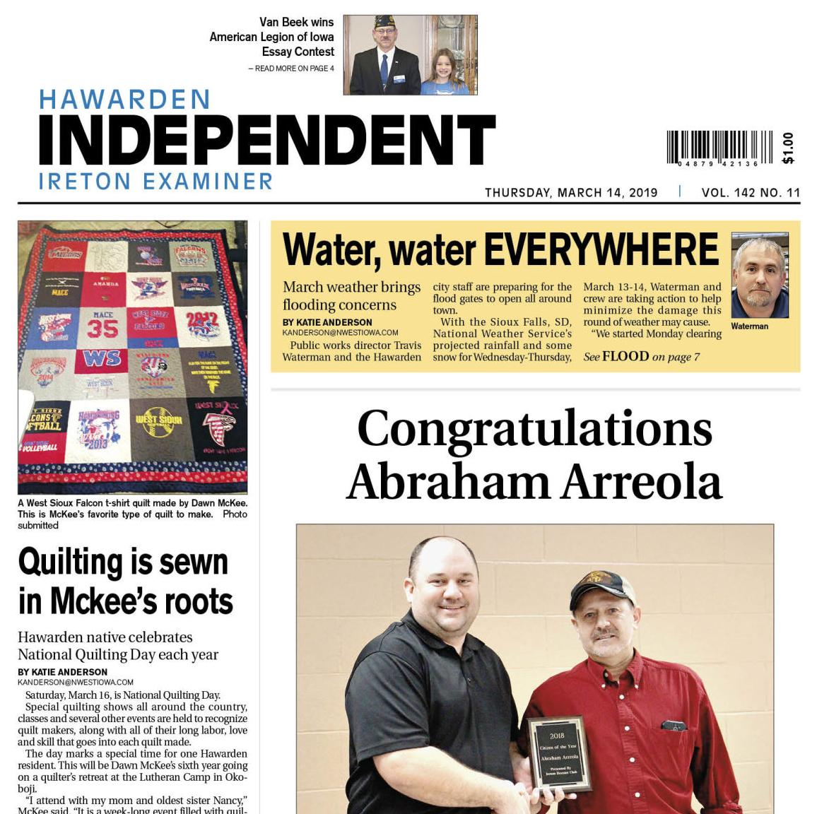Hawarden Independent/Ireton Examiner March 14, 2019
