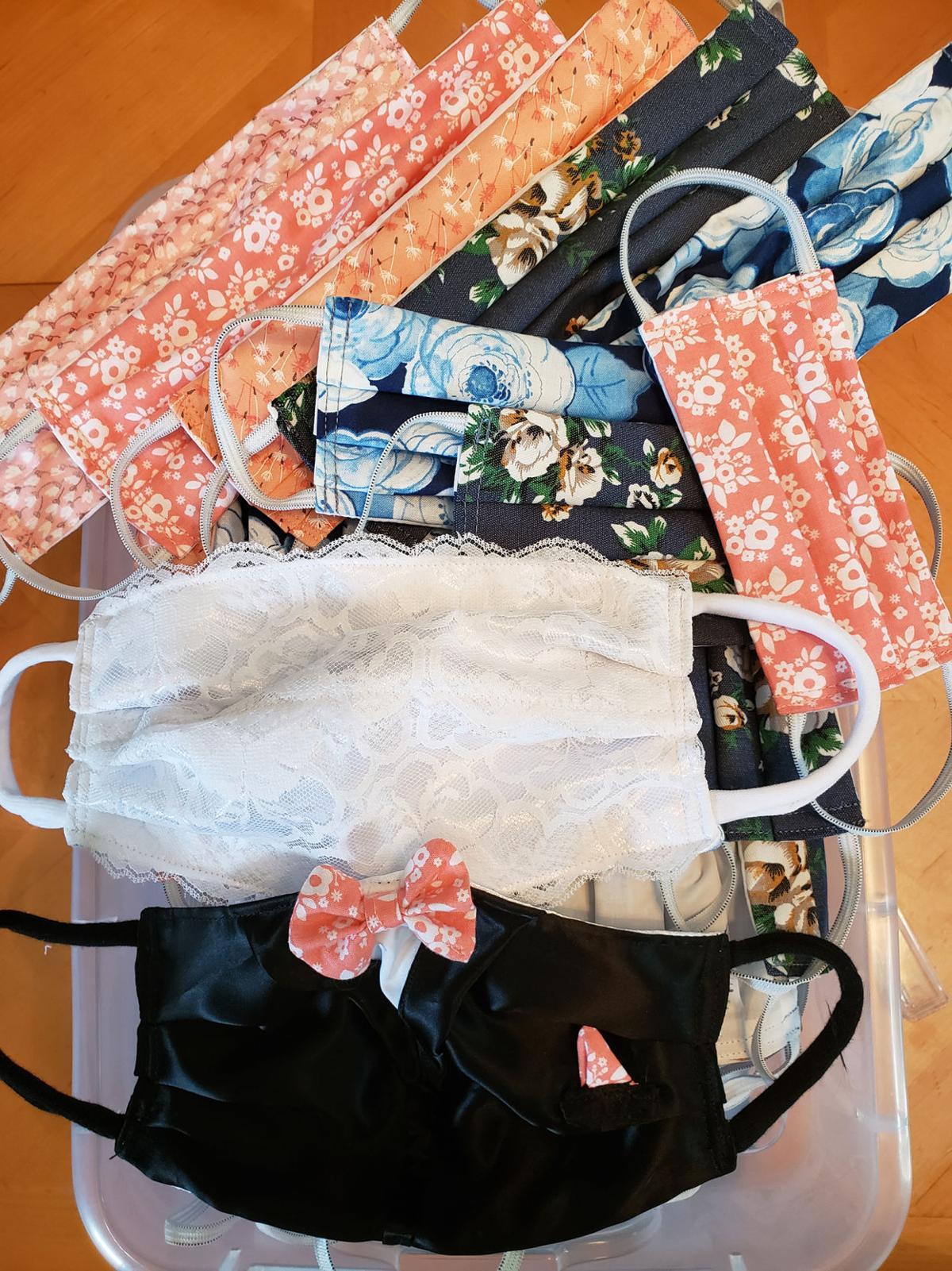 Wendy Heikes cloth masks