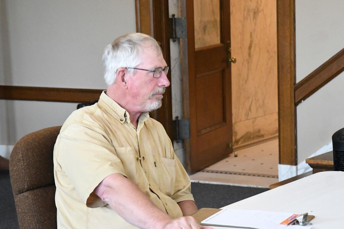 Scott Rinehart talks to O'Brien County