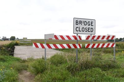 Mud Creek bridge on Eagle Avenue