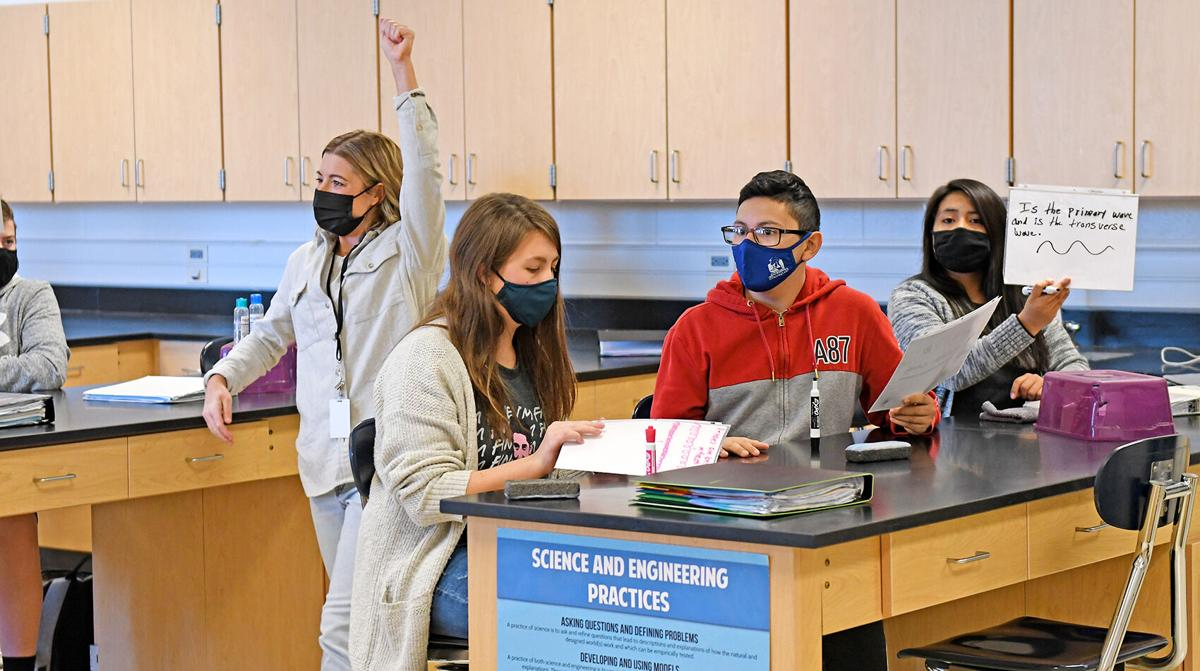Alysia Haveman's physical science class