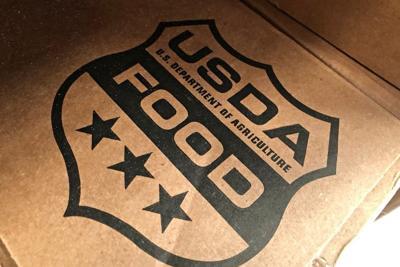 USDA free food boxes