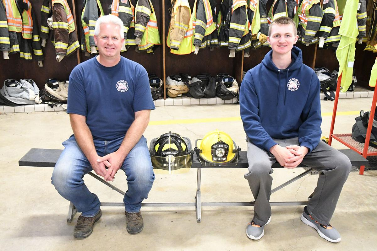 Father, son serve on SC fire department