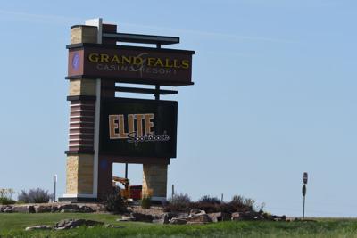 Grand Falls marquee