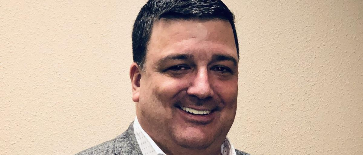 Larry Cope readies to do work in Hawarden