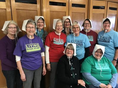 Tuesday ladies proud to serve school