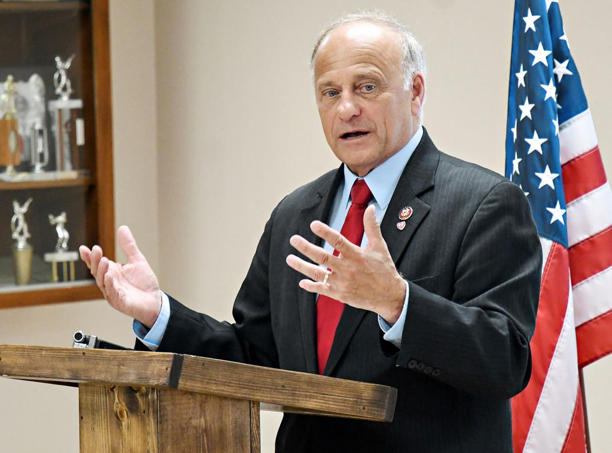 Steve King's Sioux County town hall