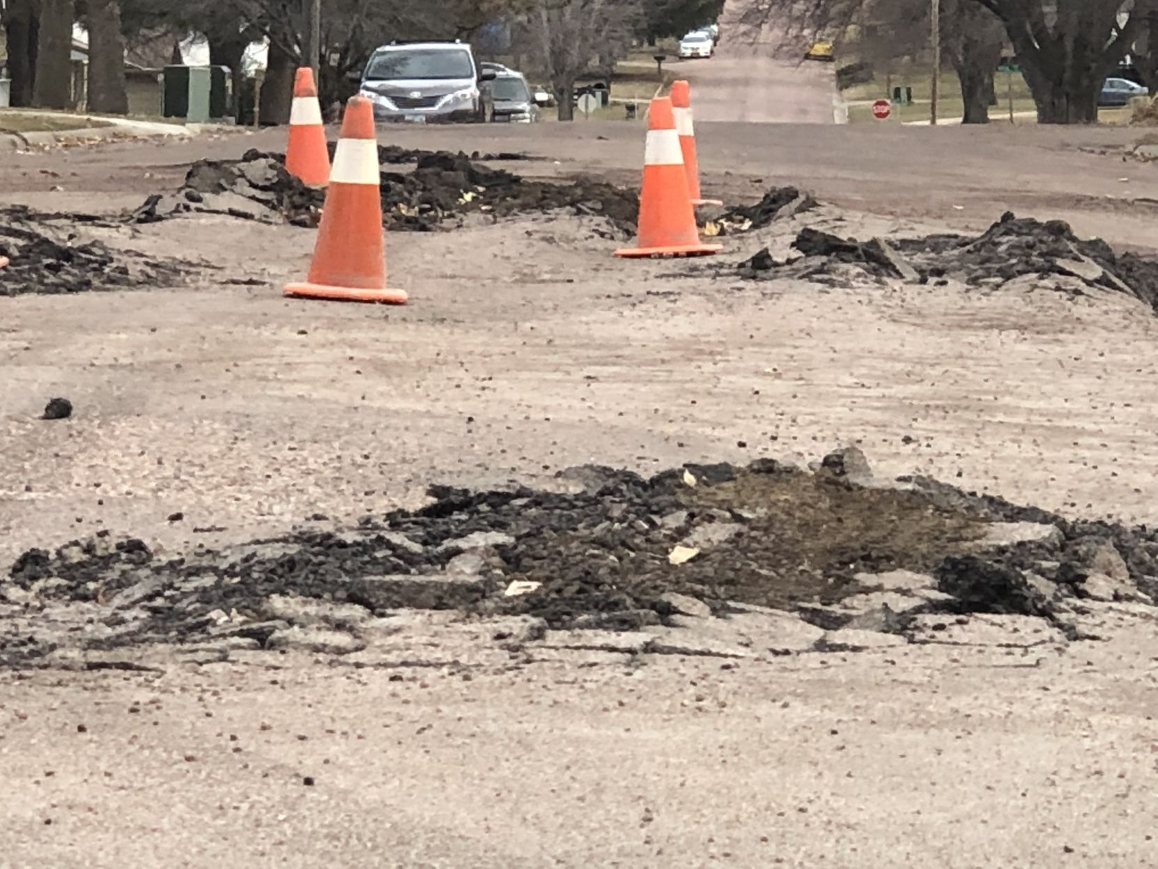 Waterman asks for patience during road work