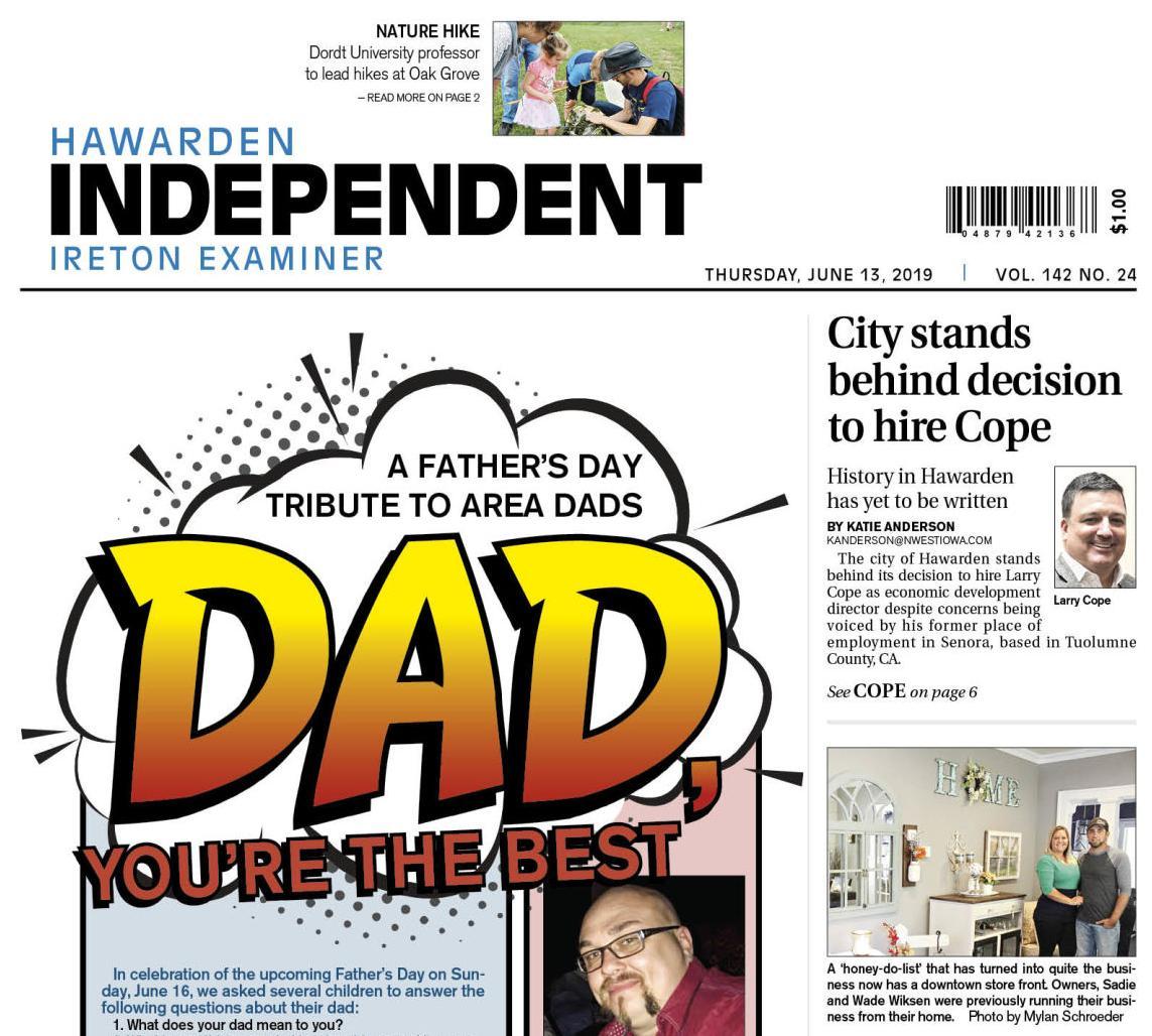 Hawarden Independent/Ireton Examiner June 13, 2019