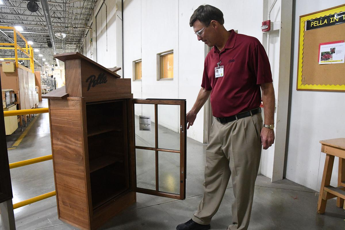 Little library ready for Sioux Center park