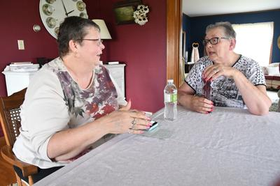 Sisters-in-law share breast cancer stories