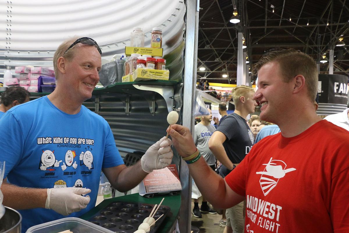 Van Beek enjoys day at state fair