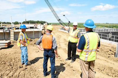 Sioux Center tours wastewater plant