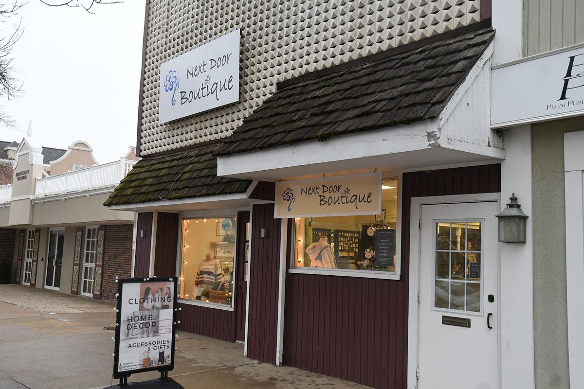 Next Door Boutique storefront