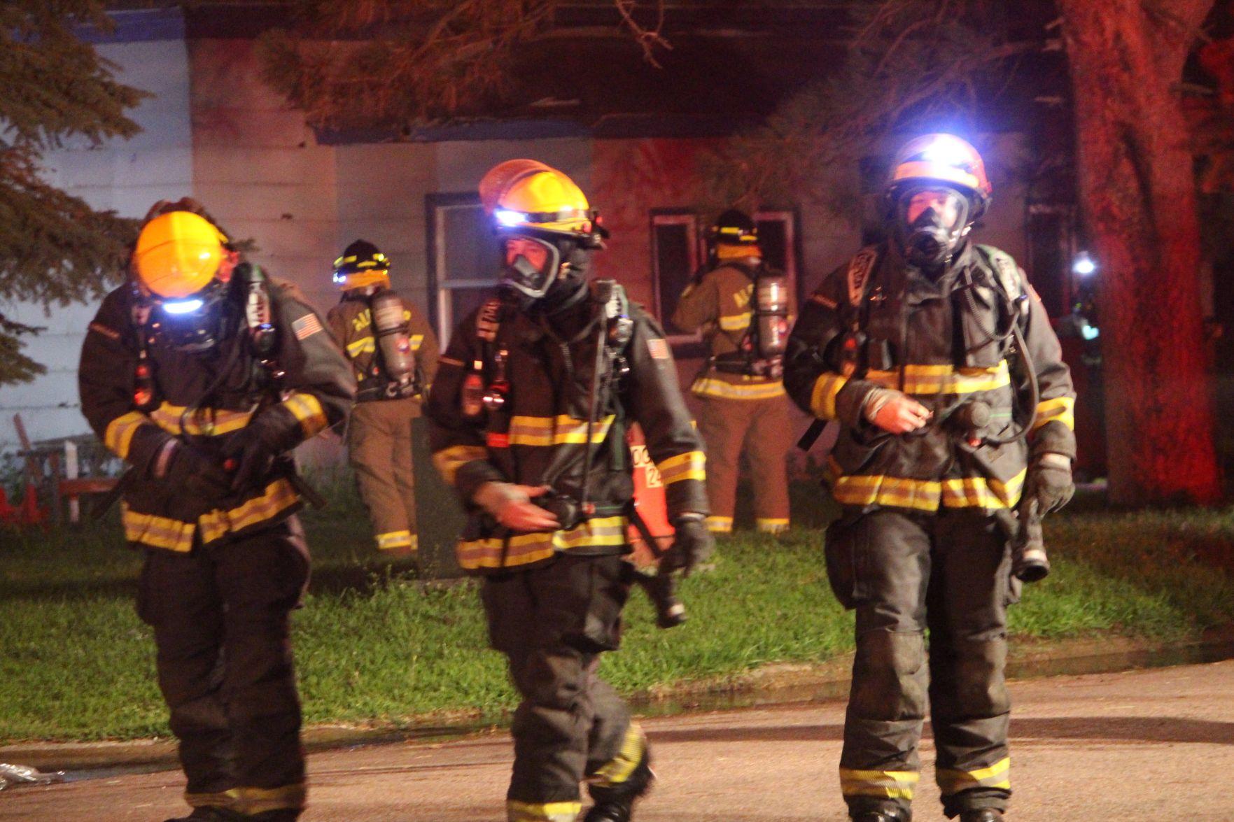 Fire in Hawarden