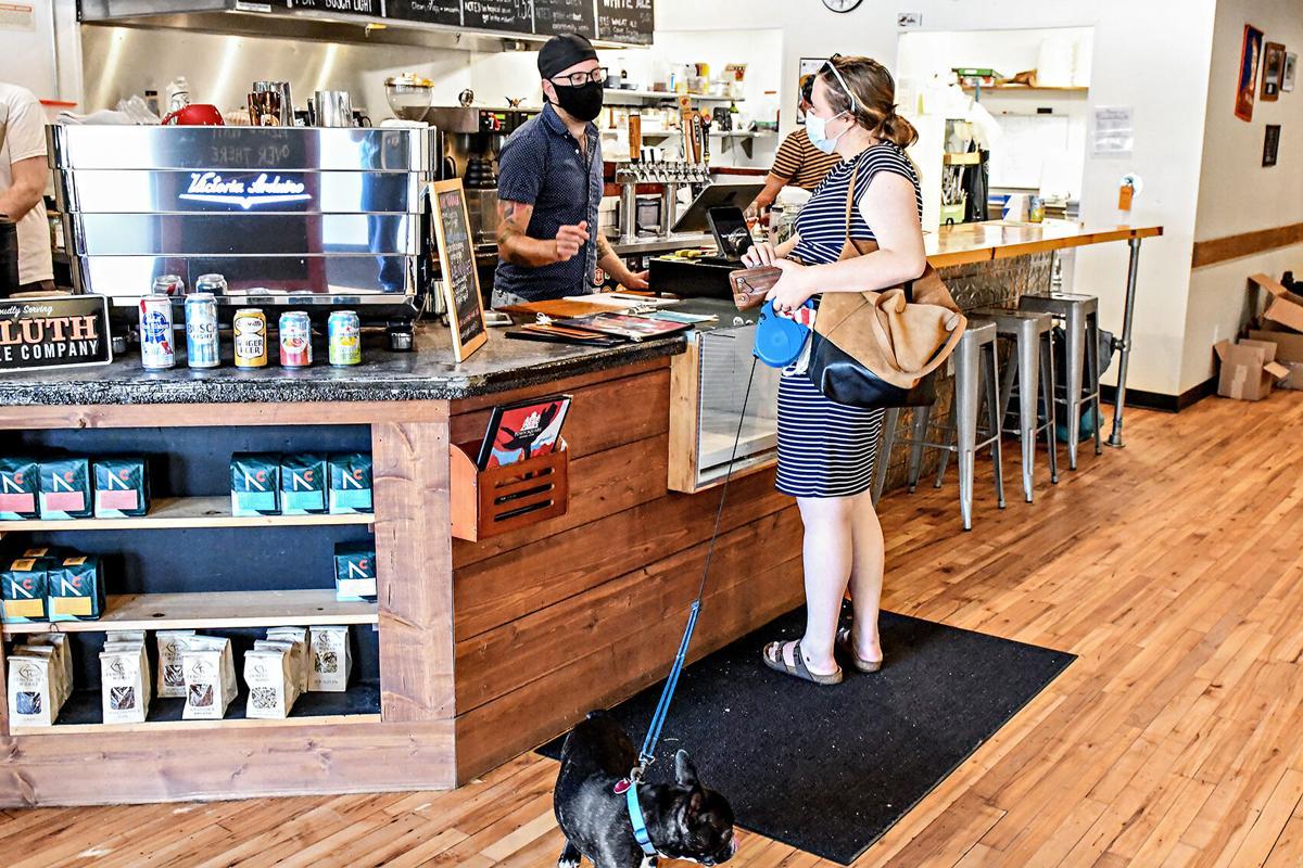 Tucker Schneider helps customer