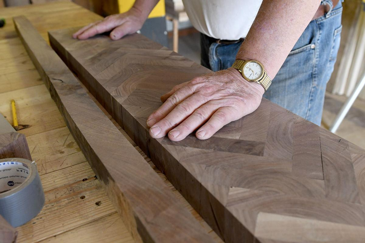 Schoolhouse Woodworking scrap table