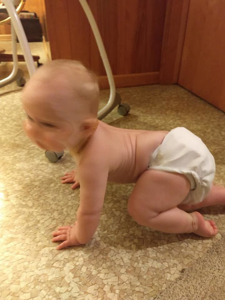 That's right, I chose cloth diapers
