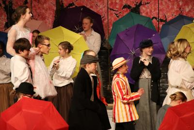 Just a spoonful of sugar onstage