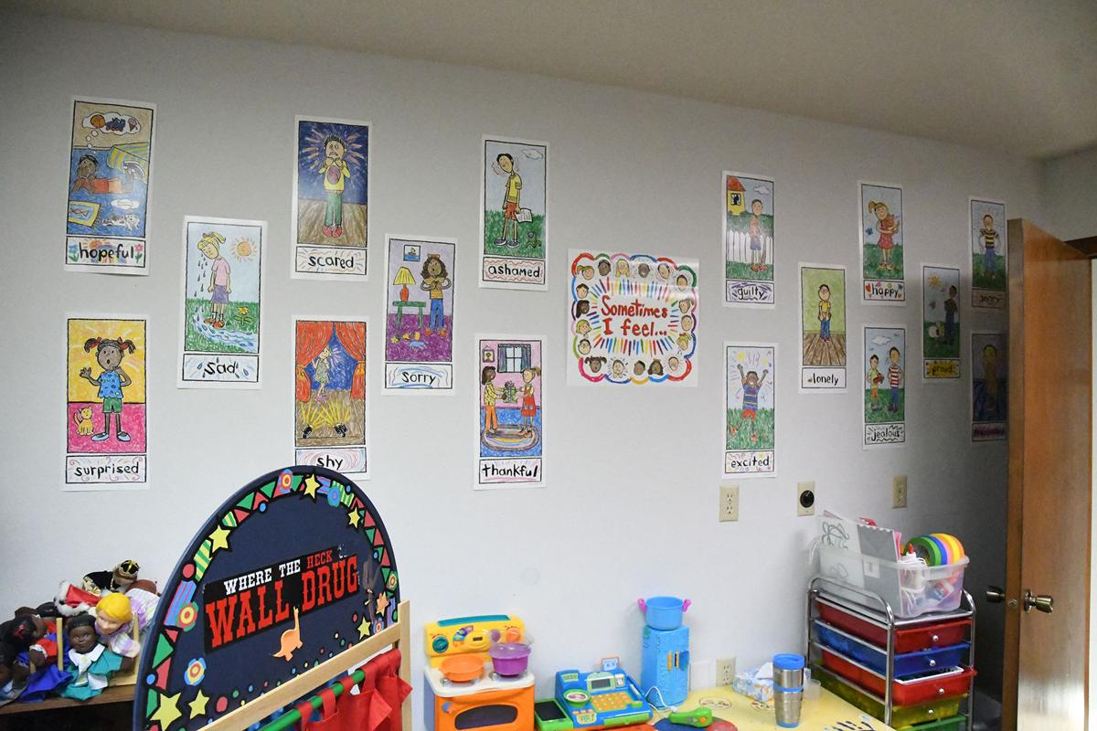 Creative Living Center play therapy room