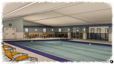 Holiday Inn Express pool renovation