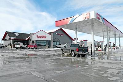 Crossroads Travel Plaza truck stop opens in Sheldon