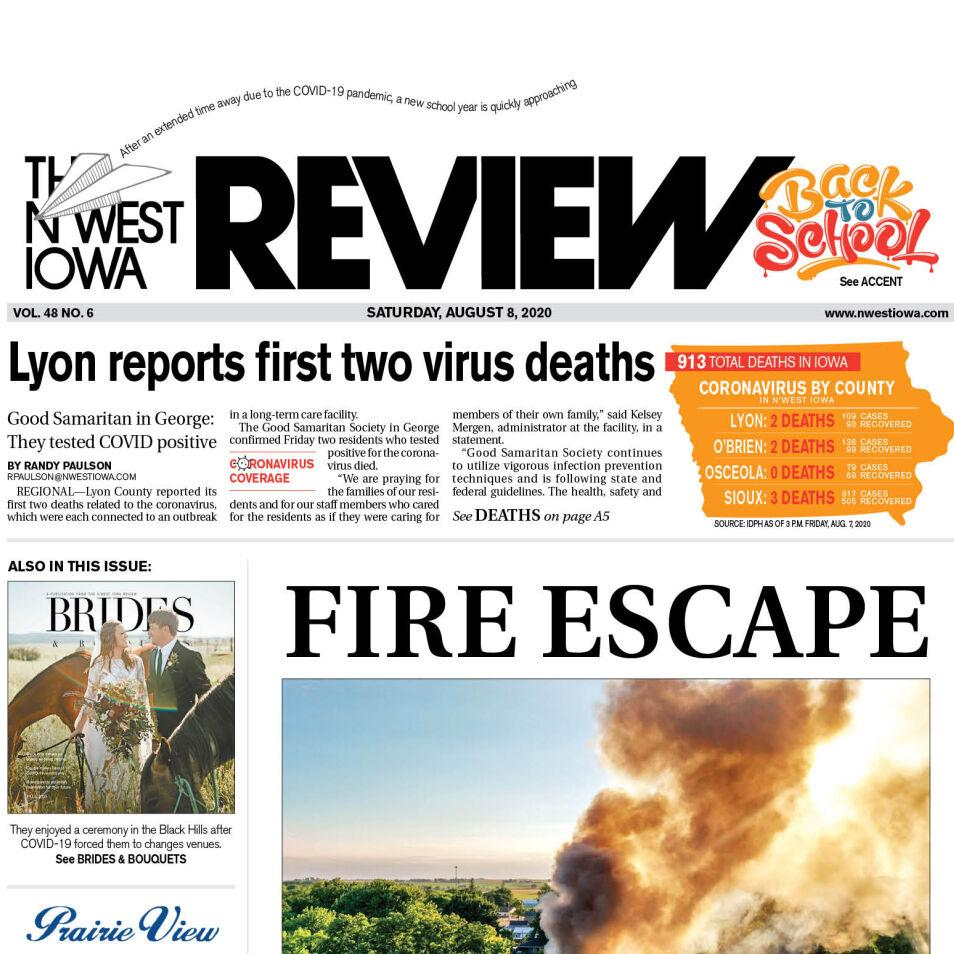 The N'West Iowa REVIEW Aug. 8, 2020