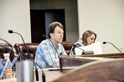 Greg Geels Sheldon City Council meeting