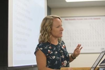 Dordt University professor Erin Olson