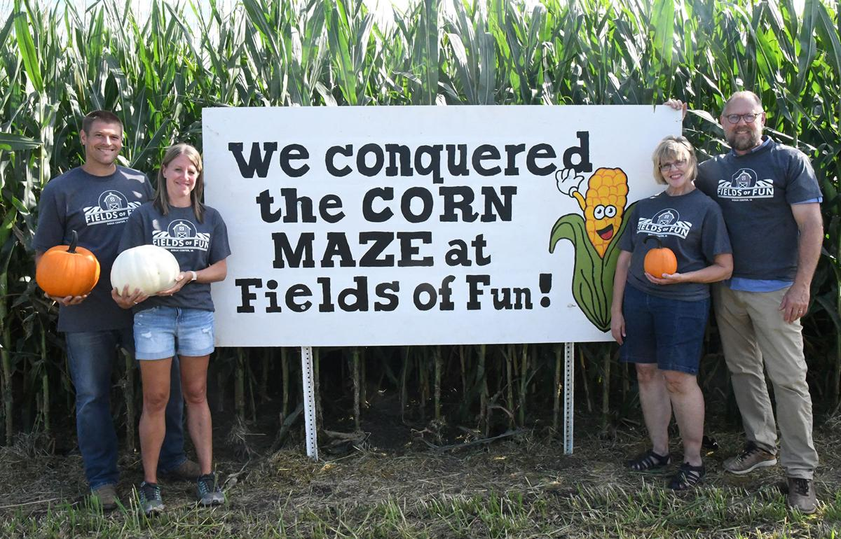 Fields of Fun offers corn maze