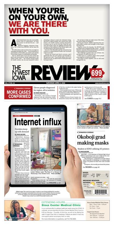 The N'West Iowa REVIEW April 4, 2020