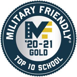 2020-21 Top 10 Military-Friendly School