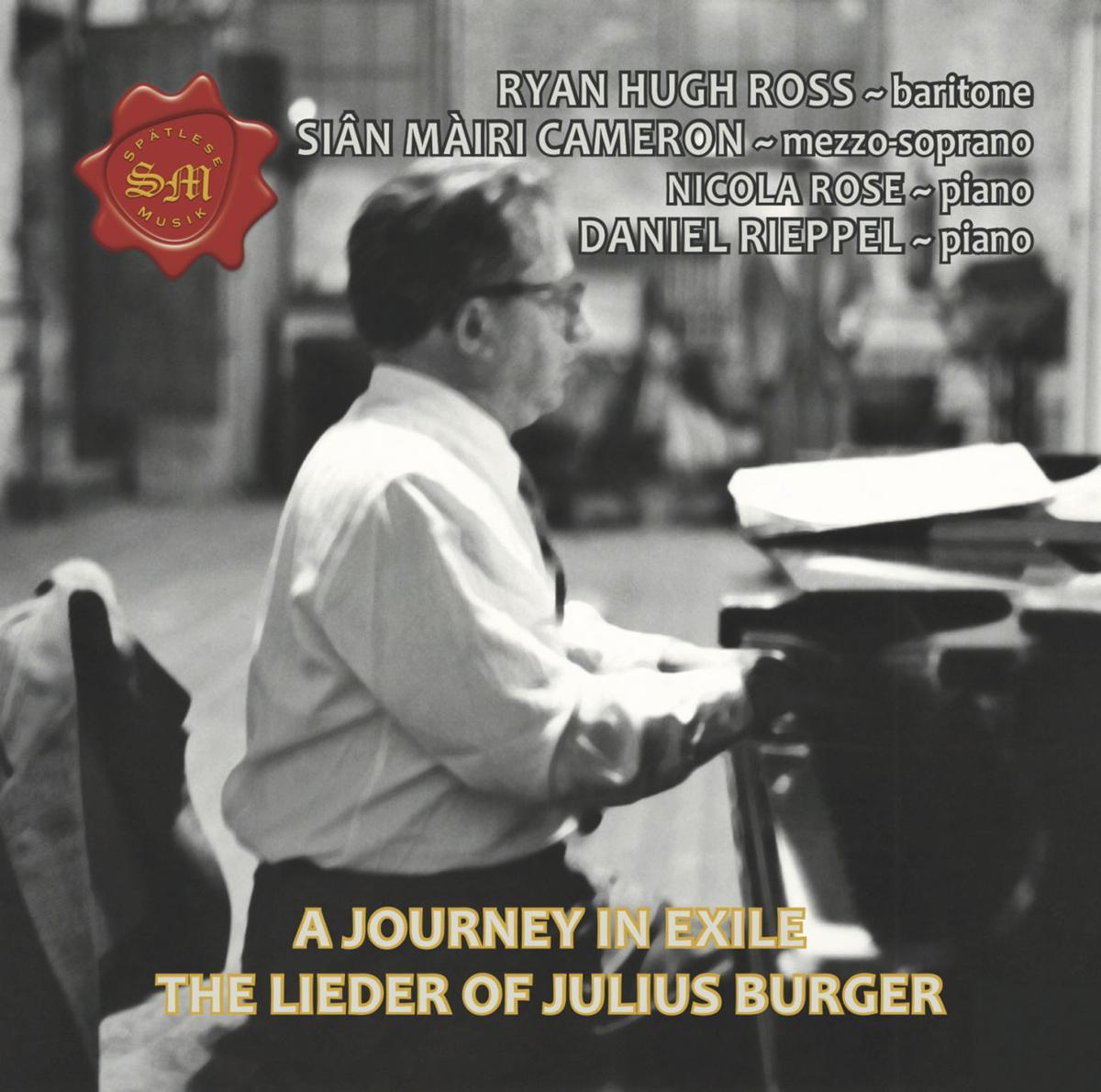 Cover of Julius Burger album