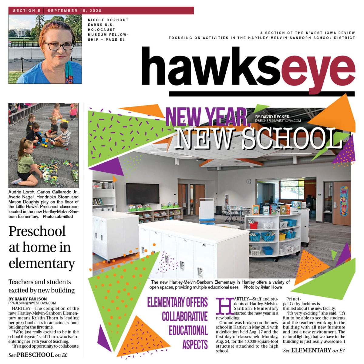 The N'West Iowa REVIEW Hartley-Melvin-Sanborn school section