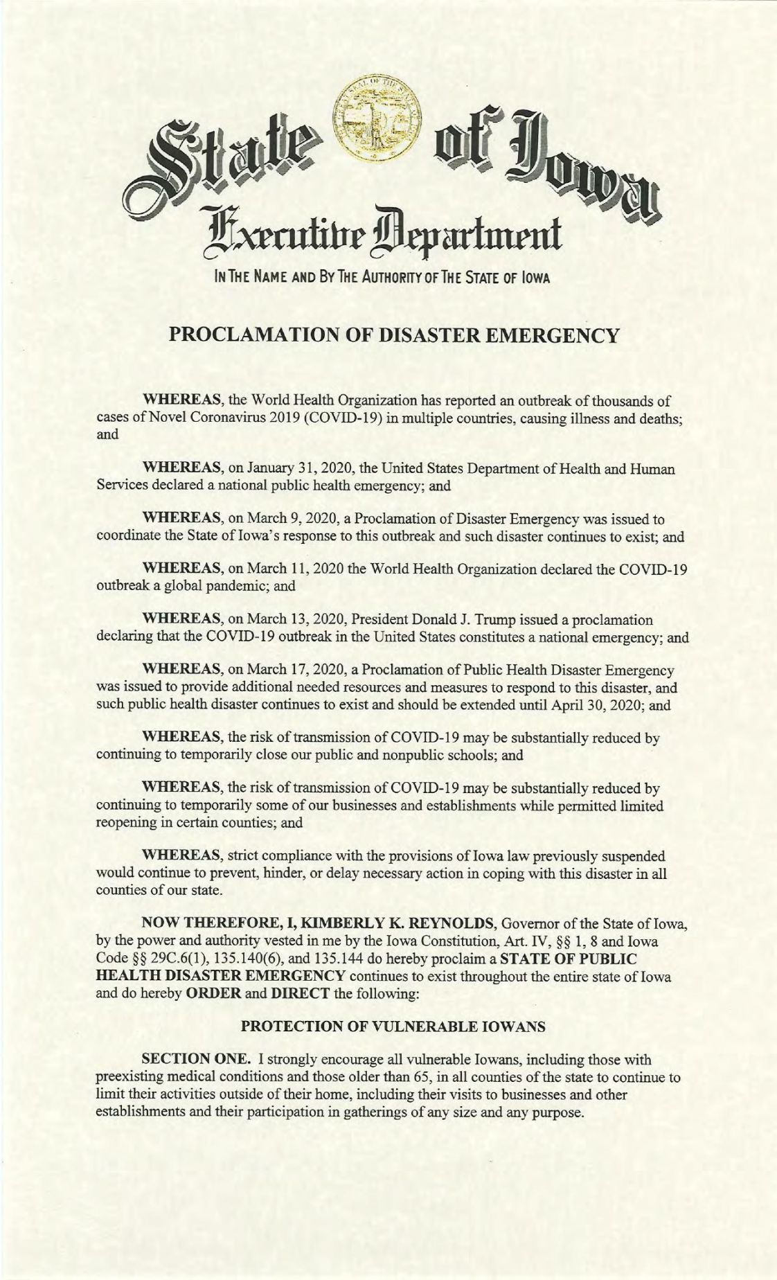 Public Health Proclamation - 2020.04.27 - Pt 1.pdf