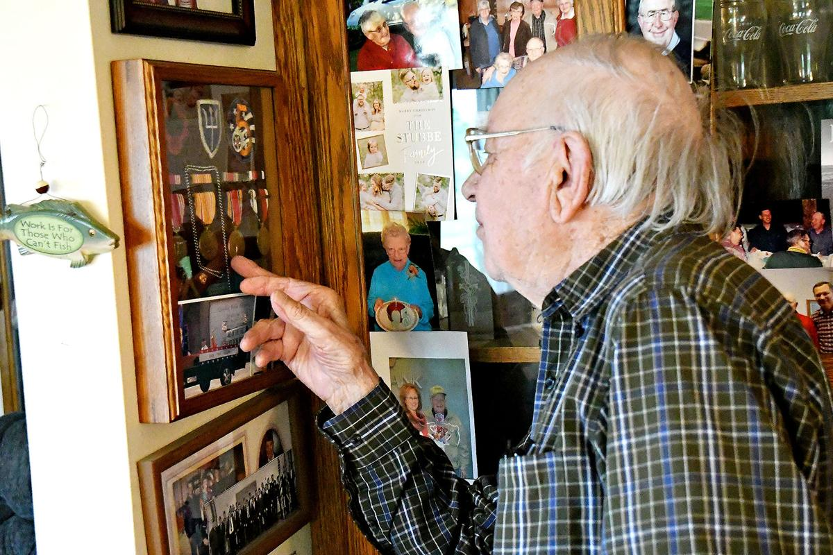 Clarence Stubbe World War II veteran