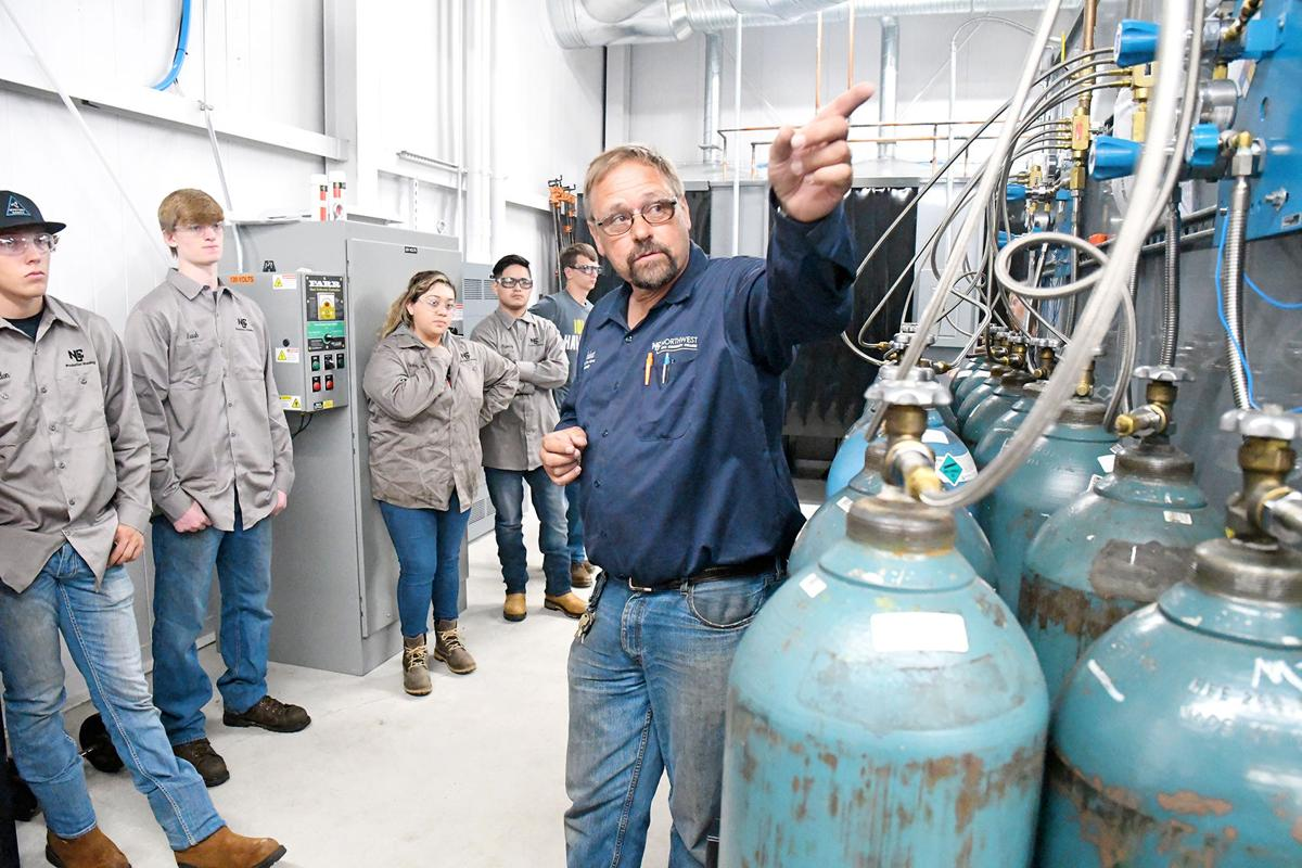 NCC's Building C new home for welding