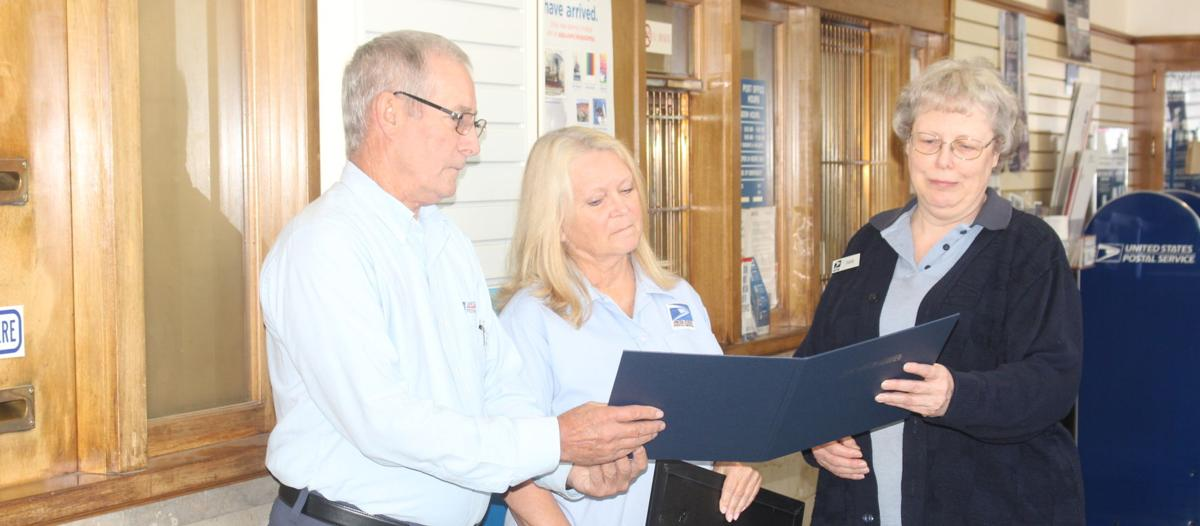 Waterman surprised with ceremony