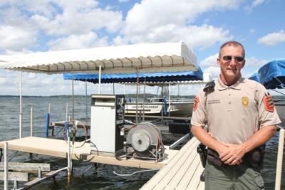 DNR enforcement officer Steve Reighard