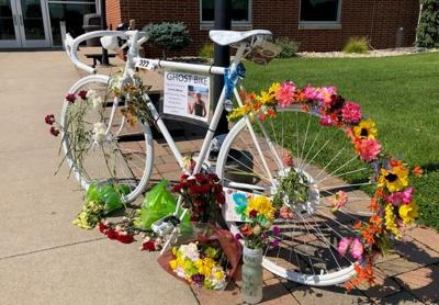 Lorna Moss - ghost bike tribute