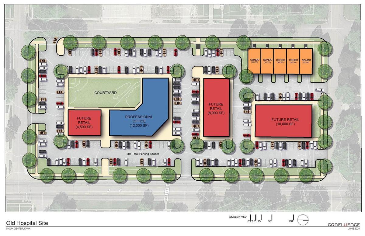 Planning for former Sioux Center Hospital site