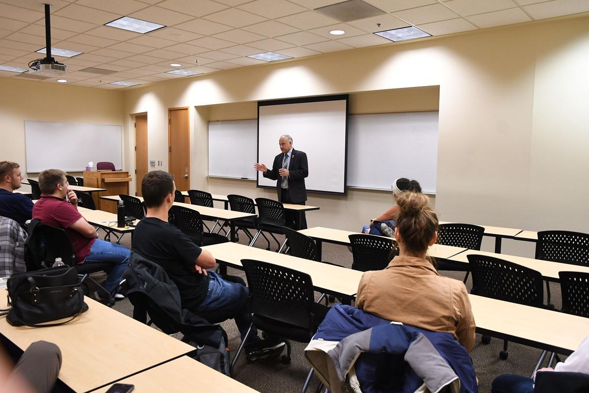 Steve King at Dordt University