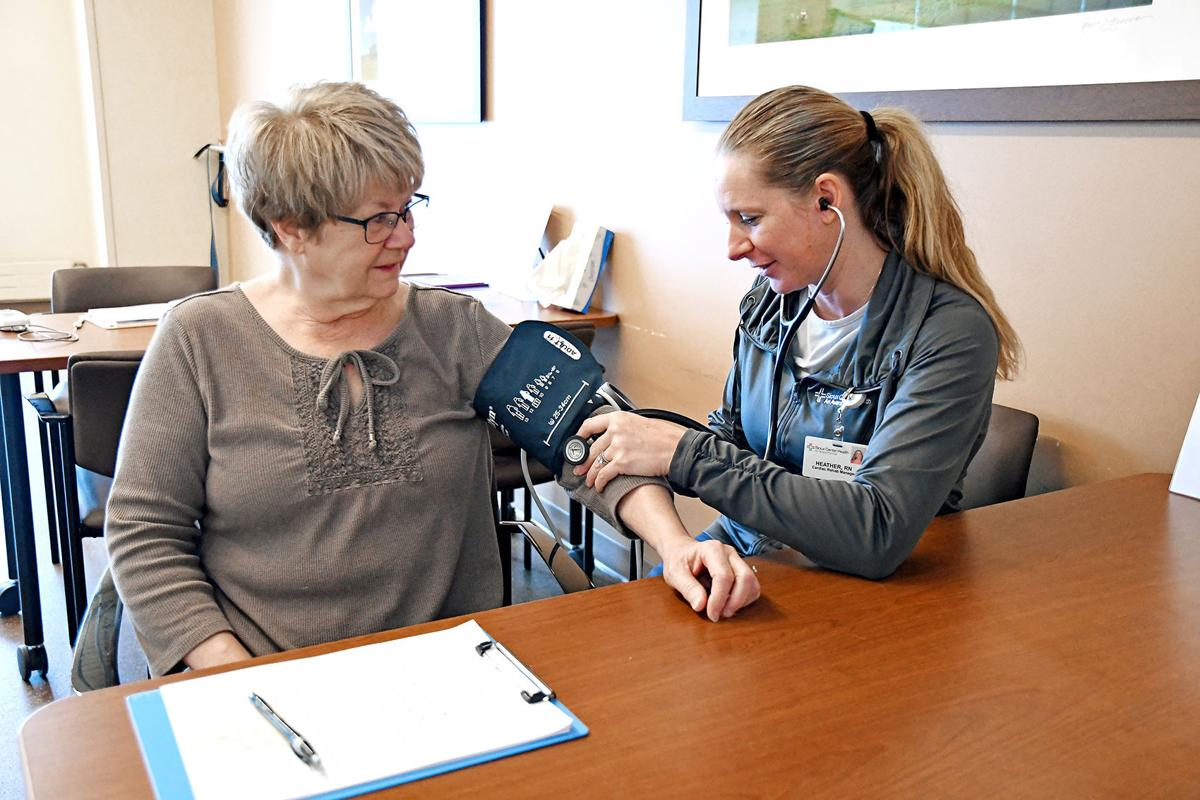 Krahling blood pressure check