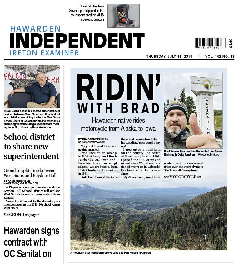 Hawarden Independent/Ireton Examiner July 11, 2019