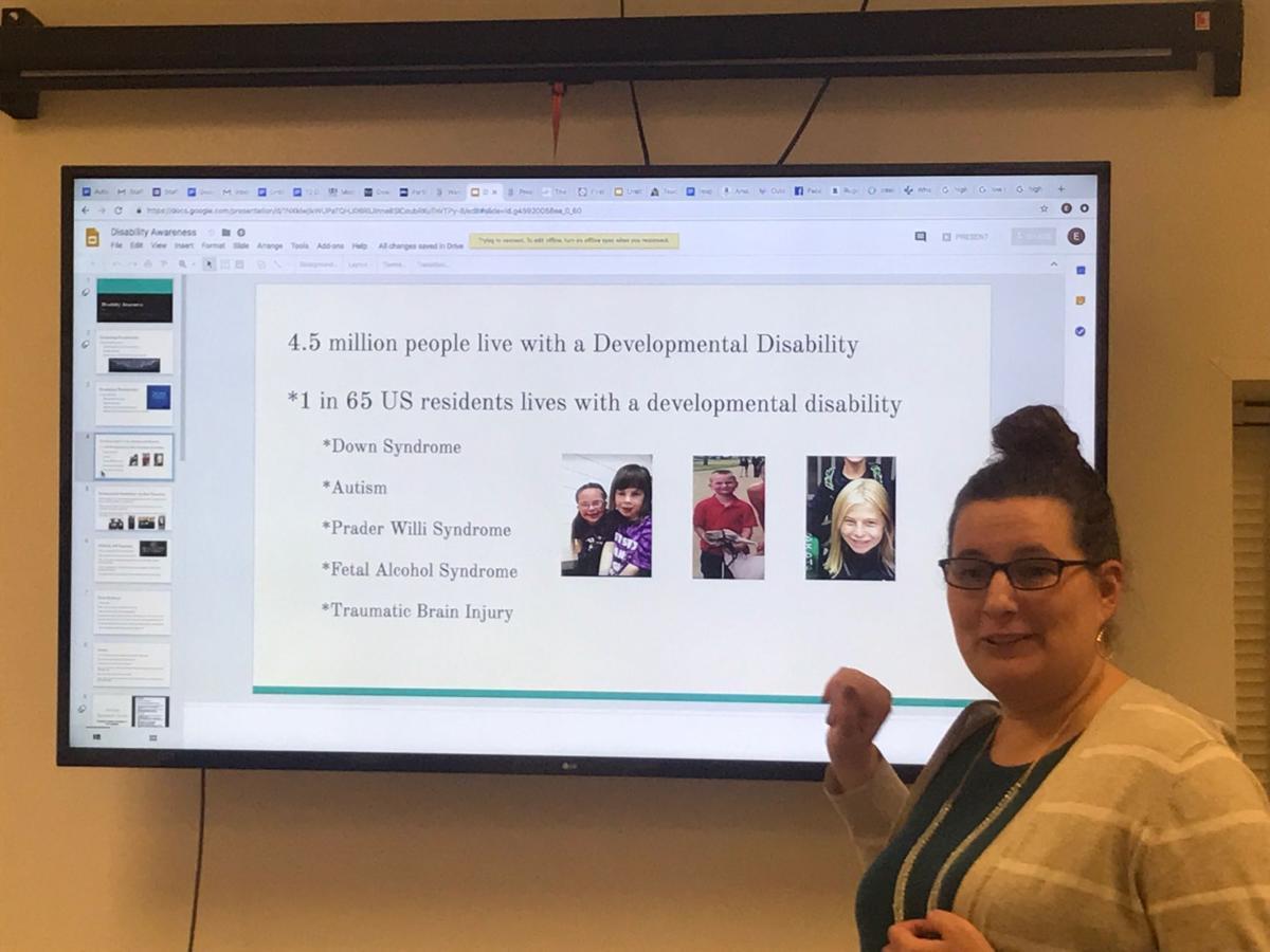 Emma Bouza Educates First Responders Hawarden Independentireton