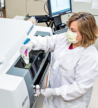 Orange City Area Health System COVID-19 test
